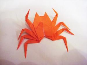 折り紙 カニ