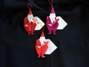 折り紙 サンタクロース
