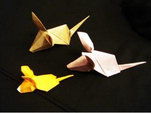 折り紙 ねずみ